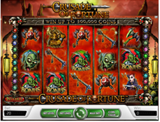 Crusade of Fortune bij Unibet Casino