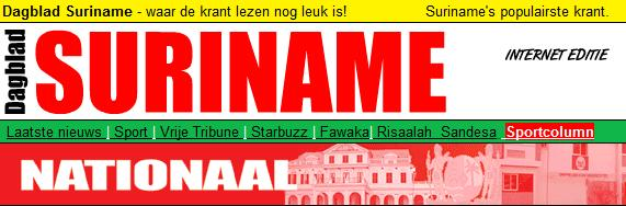 Suriname_Dagblad Suriname