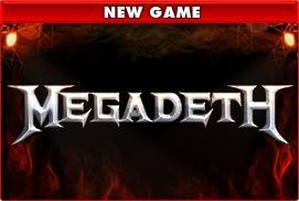 Het nieuwe videoslot over Megadeth van Leander Games