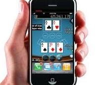 mobiel spelen op de telefoon