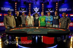 De finale negen van de WSOP 2011 zijn bekend