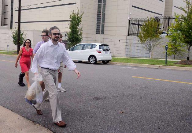Jerrod Massey verlaat de gevangenis