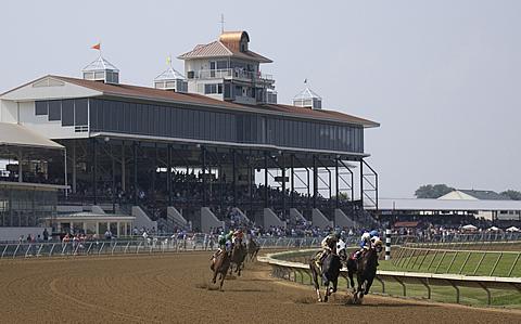 Ellis Park racecourse in Henderson, Kentucky