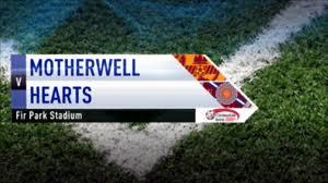 Motherwell-Hearts op 14 december 2010 werd 1-2