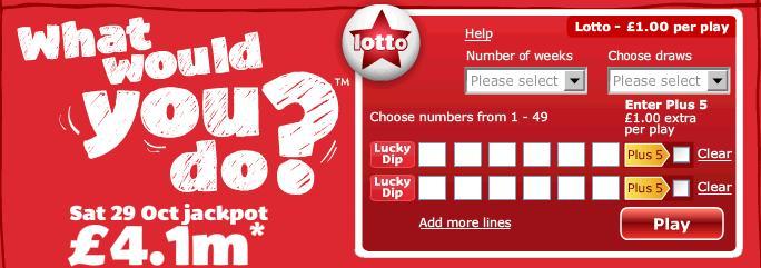 UK Lottery profiteert van mobiele technologie