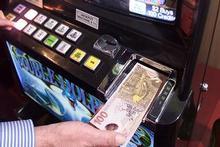Pokermachine met geld