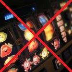 Speelautomaten verboden!