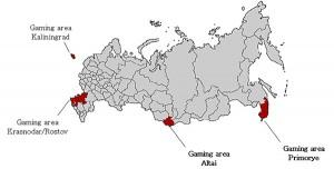 De aangewezen casinoregio van Rusland.