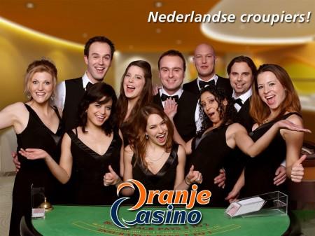 het live casino team van Oranje Casino