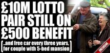 loterijwinnaars nog steeds recht op uitkering