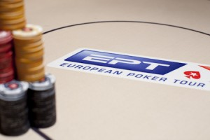 European Poker Tour logo+chips
