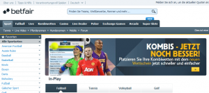 Betfair.com wordt Betfair.de