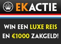 Win een stedentrip tijdens de Kroon Casino EK actie