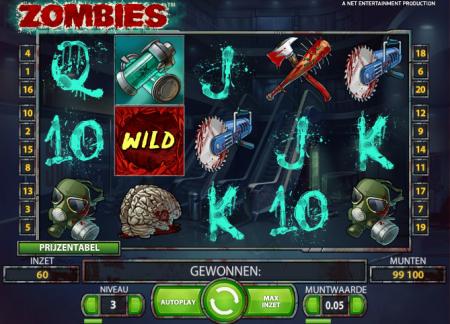 De Zombies slot bij Kroon Casino