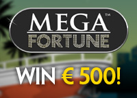 Mega Fortune Actie online casino