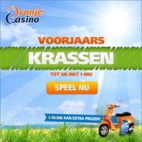 Voorjaarskrassen bij Oranje Casino