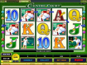 Centre Court slot - Recension & gratis spel online