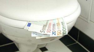 Jackpot door wc