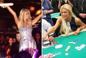 Paris Hilton blackjack