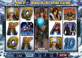 Girls With Guns - Frozen Dawn Slots - spil gratis nu