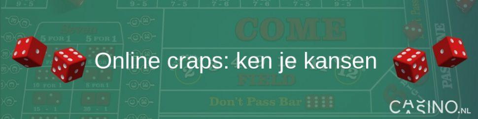 Casino.nl Online craps spelen ken je kansen