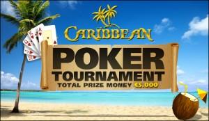 Caribbean poker toernooi