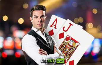 Live Blackjack Common Draw spelen