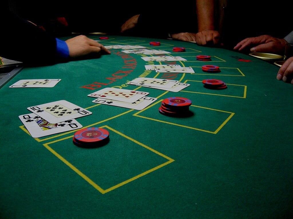 blackjack background