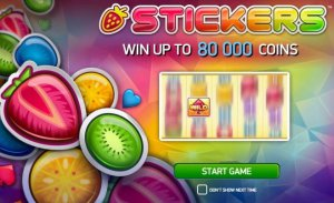 Online videoslot Stickers