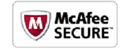 mcafee secure logo