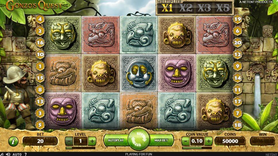 Online Gonzo's Quest Spelen