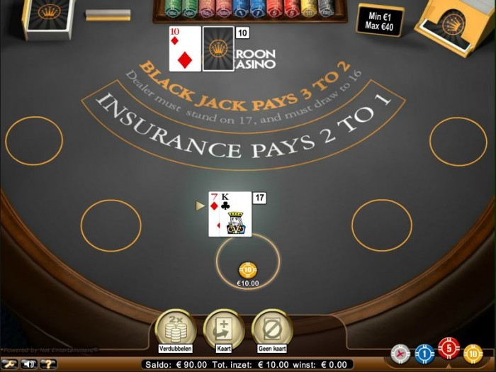 Blackjack direct spelen