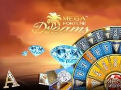 Speel Mega Fortune Dreams en win de jackpot van 3,5 miljoen