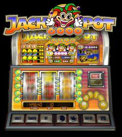 Jackpot 6000 gratis slot