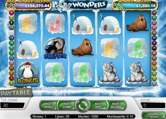 Icy Wonders slots - spil Icy Wonders slots gratis online.