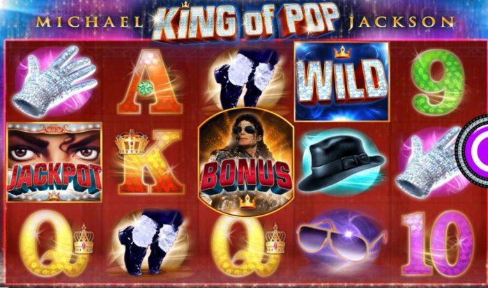 Videoslots spelen Michael Jackson slot