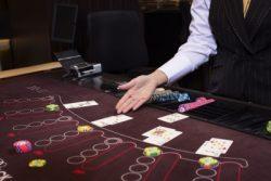 Holland Casino blackjack tafel