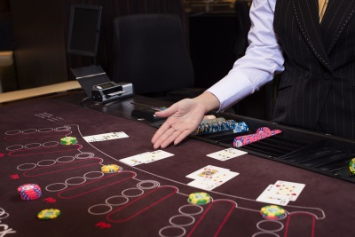 Holland Casino blackjack tafel