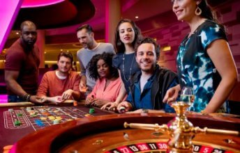 Holland Casino roulette tafel