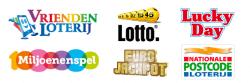 de zes nederlandse loterijen