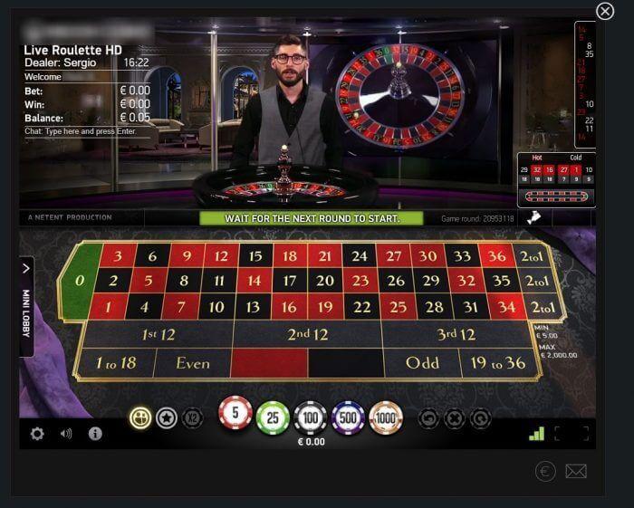 online live roulette spelen casino.nl