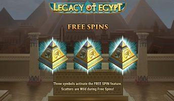 Online Legacy of Egypt spelen