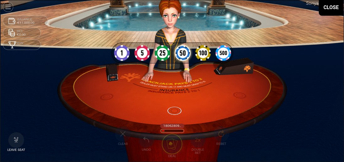 live blackjack met Sonja van Yggdrasil
