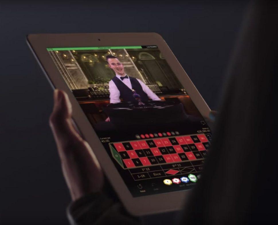 casino.nl NetEnt Live casino roulette tablet