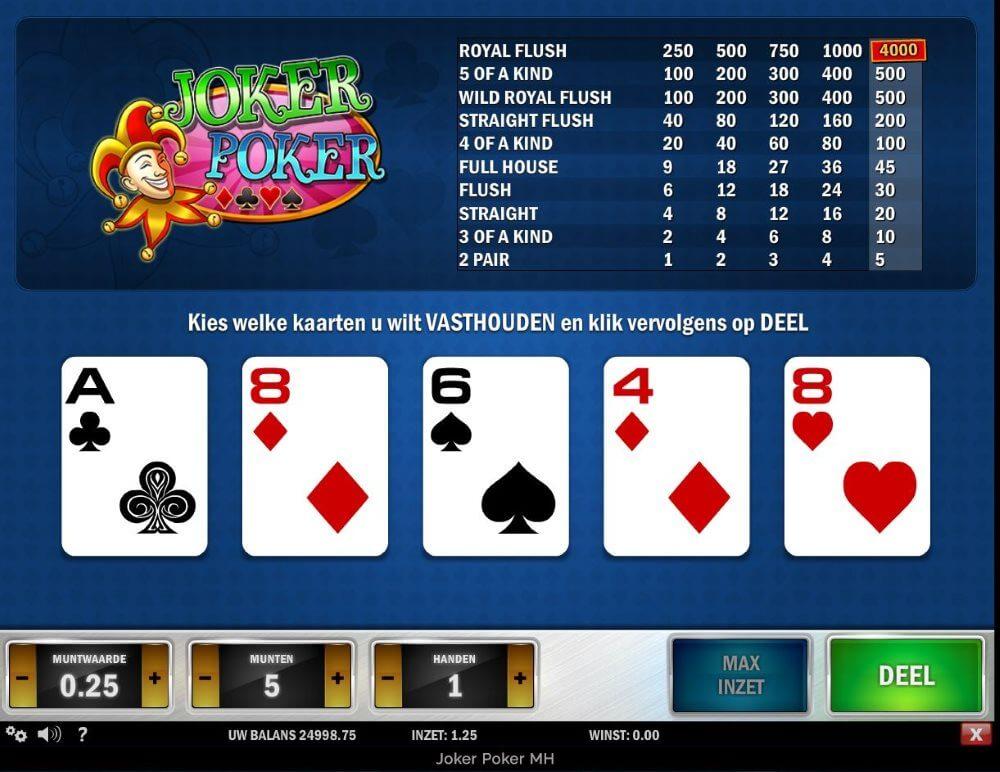 Joker Poker spelen