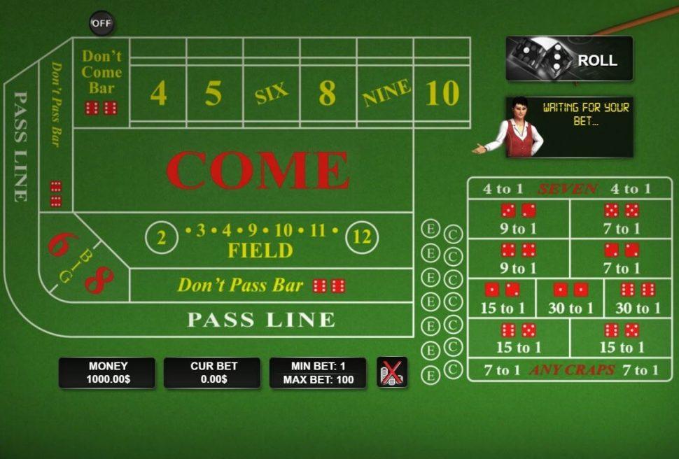 gratis craps spelen casino.nl