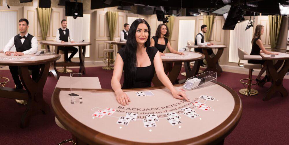Casino.nl Evolution Gaming live blackjack spelen