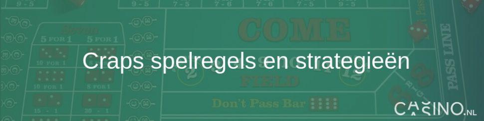 Casino.nl craps speluitleg en strategieen