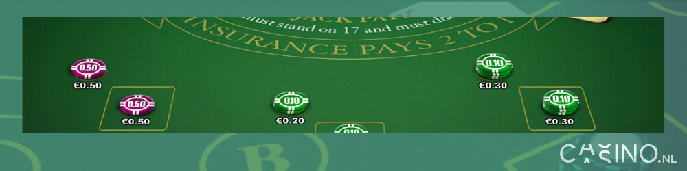 NetEnt Blackjack Professional Series spelen