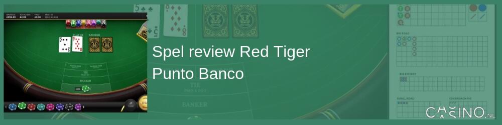 Red Tiger Punto Banco spelen